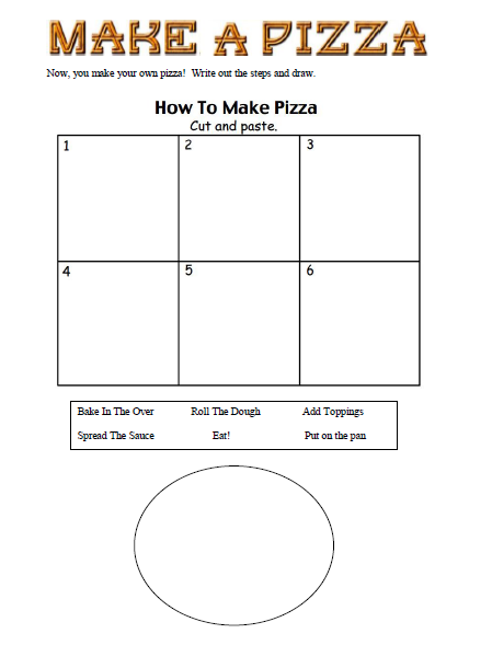 Pizza Worksheet submited images.