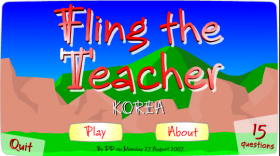 "<span itemprop=""name"">Fling The Teacher</span>"