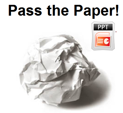 Pass The Paper