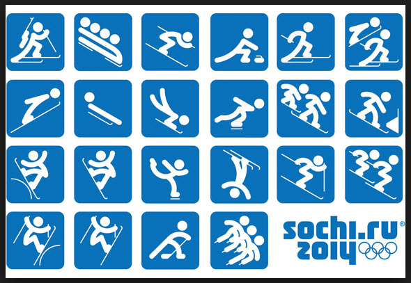 Winter Olympic sports.