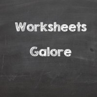 Worksheets Galore